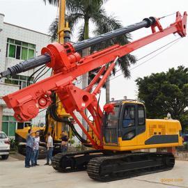 海南HER230旋挖钻机基建工程旋挖打桩机 打桩机械
