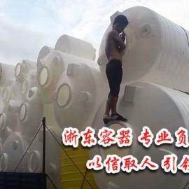 宜君滚塑PE塑料水塔桶