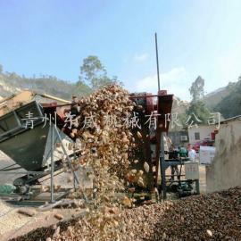 襄阳清洗石子以提高混凝土质量的滚筒洗石机便宜又实用