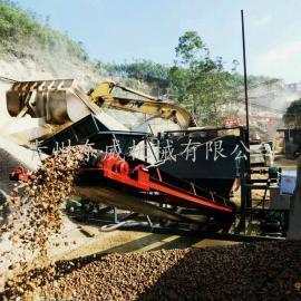 洗石机 厦门搅拌站混凝土石子清洗滚筒洗石机厂家供应