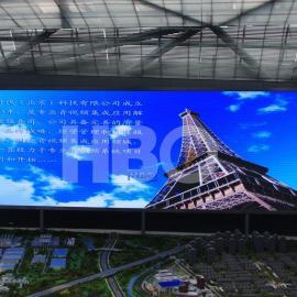 会议厅大屏幕规格标准,高清P2.5 LED显示屏会议室安装价格