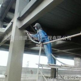 本溪钢结构防火涂料施工