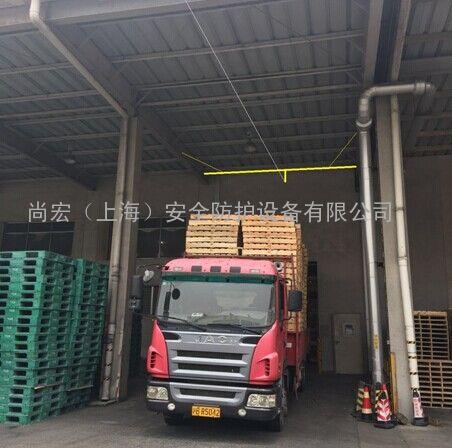 水平生命线-水平生命线装卸货钢结构雨棚安装