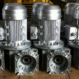 厂家直销小型蜗轮蜗杆减速机RV40-10(带370W电机)