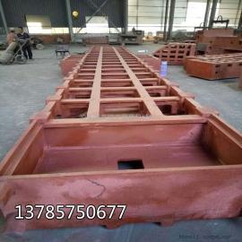 广州数控机床床身铸件 HT250材质立柱横梁铸造翻砂