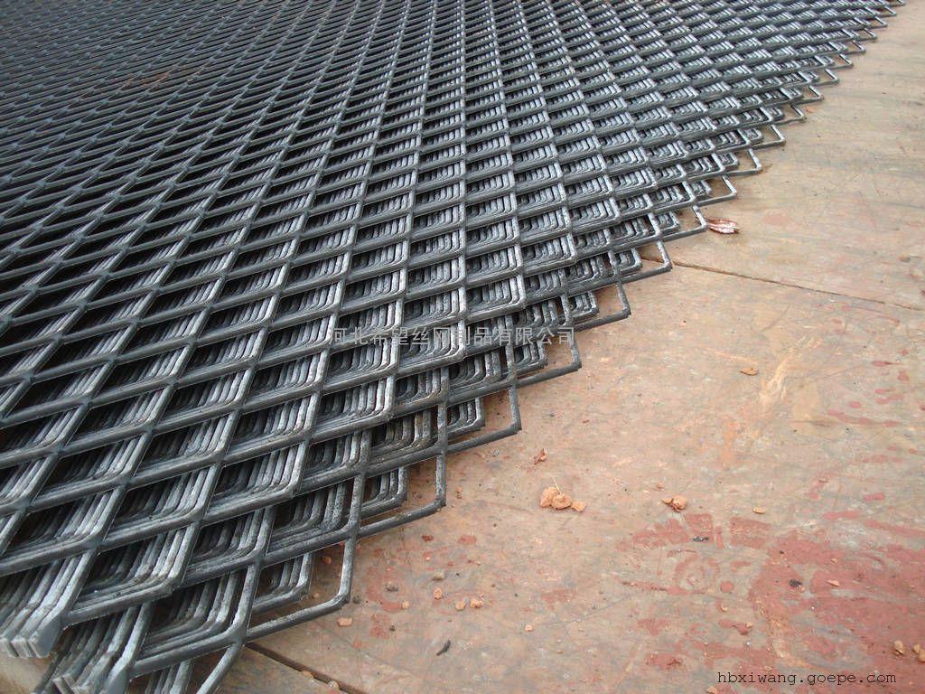 钢板网/金属板网/菱形孔钢板网/钢板脚踏网