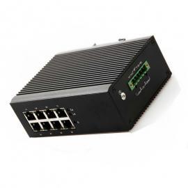 百兆8口工业级以太网交换机城市地下综合管廊视频监控系统