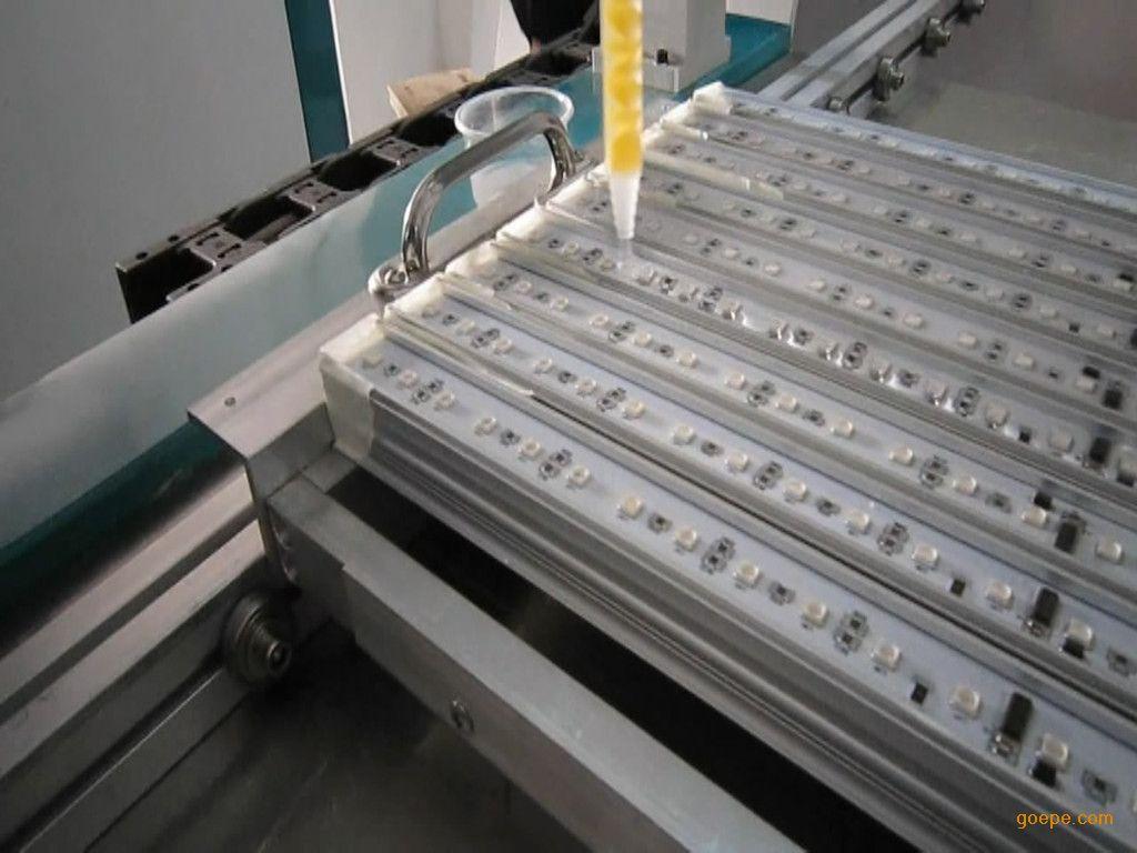 格帝斯mg-1280led硬灯条防水自动滴胶灌胶机图片