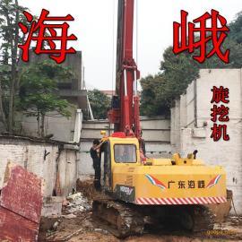 四川HER260旋挖钻机卵石护筒柴油打桩机 图片