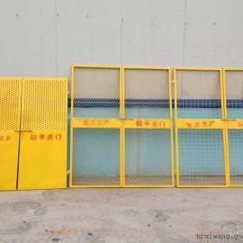 施工电梯安全门的组成|工地施工电梯防护门常用规格