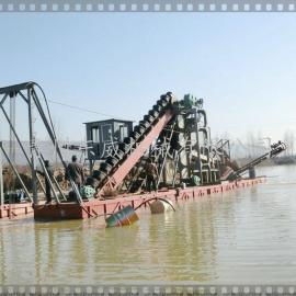 南昌挖沙船|南昌链斗式挖沙船|南昌河道采砂机械
