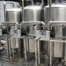 食品/制药专用不锈钢全自动软化水设备