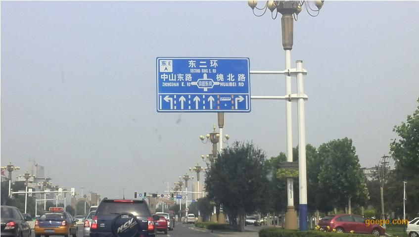 贵州(高速路指示牌) 都匀路牌杆厂家专业