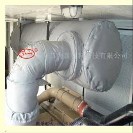 汽轮机保温套 可拆卸汽轮机隔热套 工业 保温罩 软保温衣