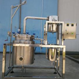 零售中大规模共水分馏或隔水分馏动物色素/精油提取设备