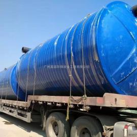 广州玻璃钢地埋式一体化污水处理设备