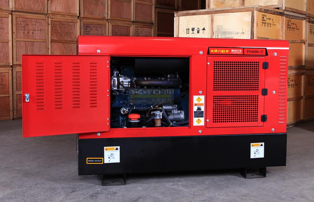 TO400-T多功能燃气管道柴油发电电焊两用机