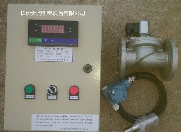 光柱式液位显示控制仪控制器控制电磁阀自动补水