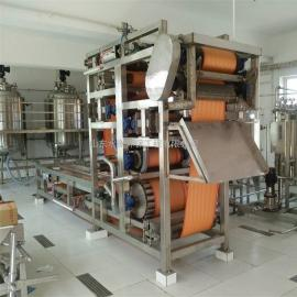 SH小型红薯淀粉压榨脱水机 带式压滤机 不锈钢材质