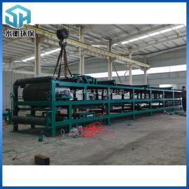 带式真空过滤机 污水处理固液分离设备 碳钢防腐