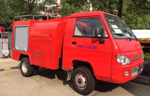 福田小卡消防洒水车最小的农用消防车