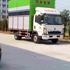 天津嘉中科技全新化粪池清理车,密封性能好