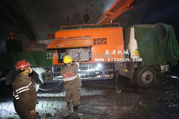 公路隧道用CSP-30江西鑫通湿喷机-湿喷机械手