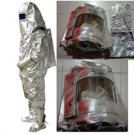 耐高温隔热服XF型消防服耐辐射热防护服