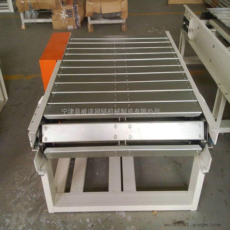 家电机械不锈钢板链式输送线平面共生设计图图片