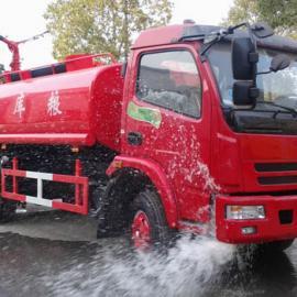 装水5吨的消防洒水车灭火洒水两用车
