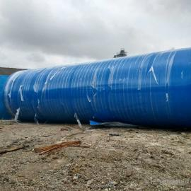 海南环保地埋式污水处理设备玻璃钢化粪池厂家