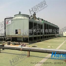 冷却塔降噪措施,中央空调冷却塔降噪方案