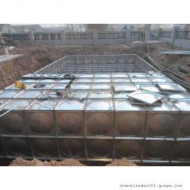 西安抗浮式地埋箱泵一体化设备
