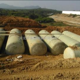 忠县3立玻璃钢化粪池批发价格供应农村3立沼气池玻璃钢沉淀池