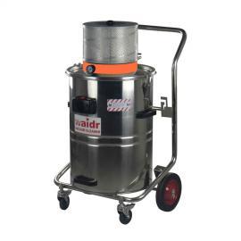 吸力230 mbar气动真空工业吸尘器 打磨车间吸铝屑铝末用