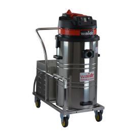 电瓶80L工业吸尘器 仓库用吸尘器威德尔充电吸尘器
