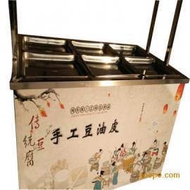 做油皮的北京赛车手工做油皮的北京赛车价格高效率腐竹油皮机