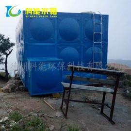 科能方形组合式玻璃钢消防水箱/生活水箱材质环保