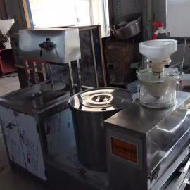 新型花生豆腐机 图片 全自动腐竹油皮机