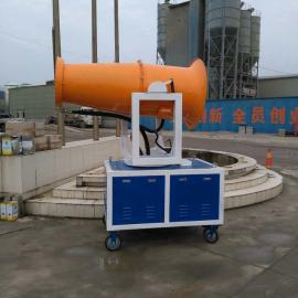 四川泸州市砂石厂远射程降尘雾炮机