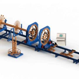金华全自动钢筋笼滚焊机报价、大型轻轨高铁建筑机械