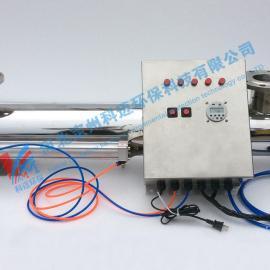 过流式紫外线消毒器870W飞利浦灯管工业养殖水处理杀菌器北京包邮