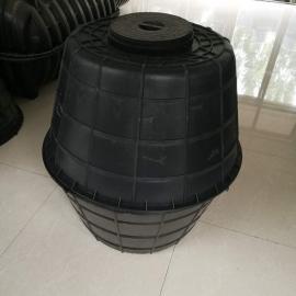 淄博500mm高双瓮漏斗式化粪池