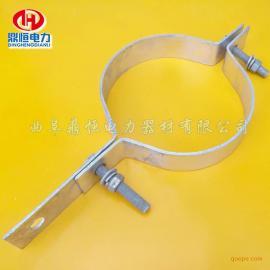 OPGW光缆抱箍 杆用抱箍 不锈钢卡箍规格型号提供厂家