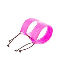 粉色PVC法兰保护套