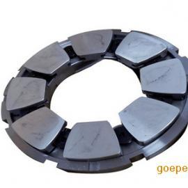 虎伏新材批量定制生产各规格汽轮机瓦块