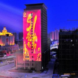 c都市巨影W155投影灯 巨型投影广告 建筑亮化