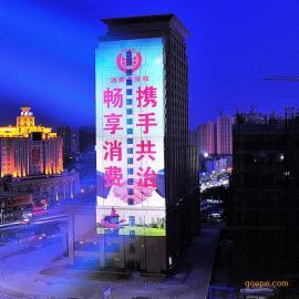 Z户外广告投影灯优质供应商_墙体广告投影设备_建筑外墙亮化