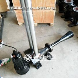 自耦式射流曝气机实体安装图片QSB1.5