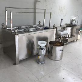 酒店豆油皮机一人操作现做现卖的小型豆油皮的价格可现场试机